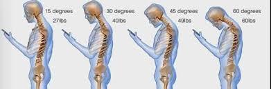 Tablet e smartphone, postura sbagliata e cattivo umore