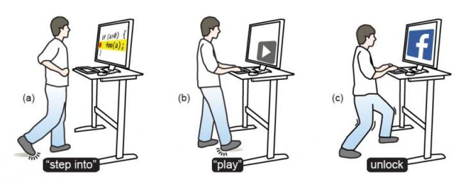 Ora puoi gestire il computer anche con i piedi
