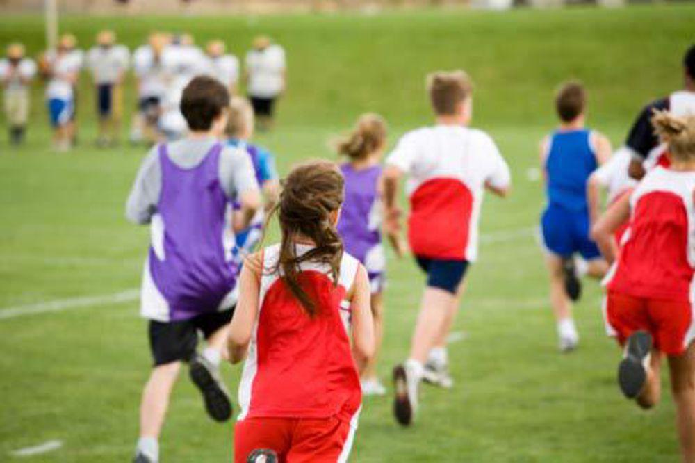 Un po' di attività fisica intensa fa bene anche ai bambini