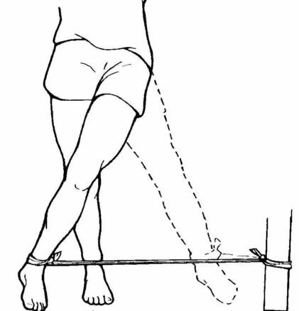 Esercitare l'anca per curare  l'artrosi al ginocchio