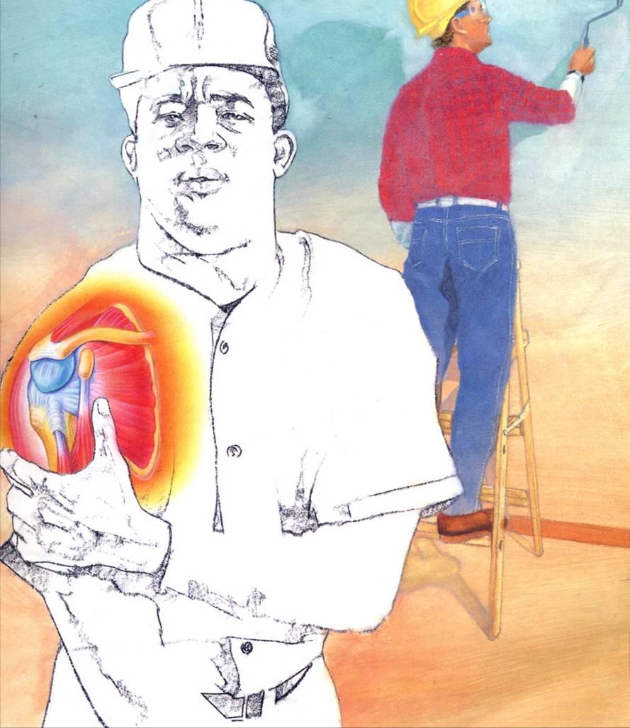 Esercizi per cuffia dei rotatori e dolore alla spalla