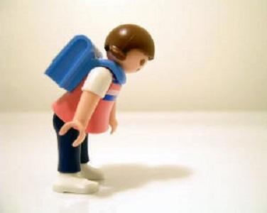"""""""Epidemia"""" di mal di schiena nei bambini: di chi è la colpa?"""