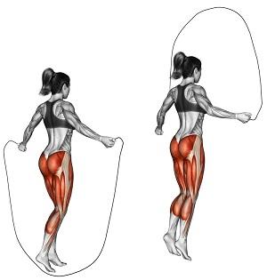 Il salto con la corda fa male alle ginocchia?
