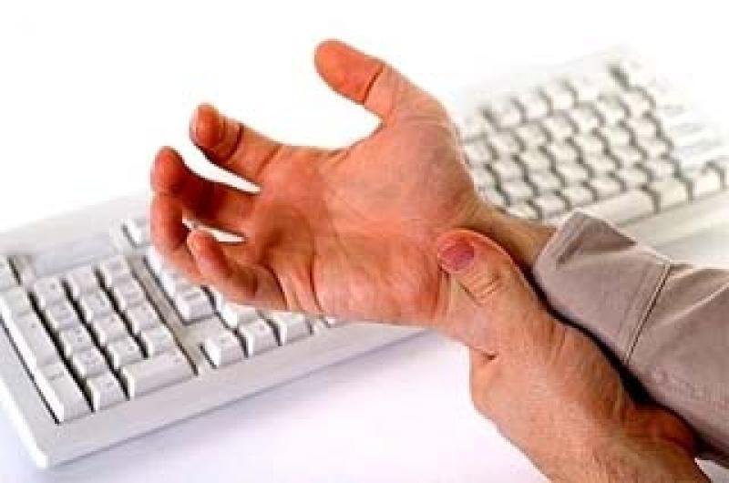 Tendinite da tastiera, l'importanza della postura al PC