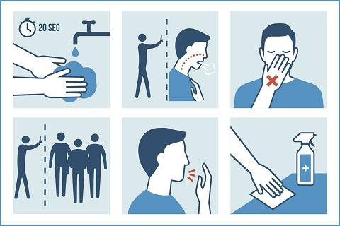 """Coronavirus, scienziati: """"Bassi rischi con la regola dei 6 secondi"""""""