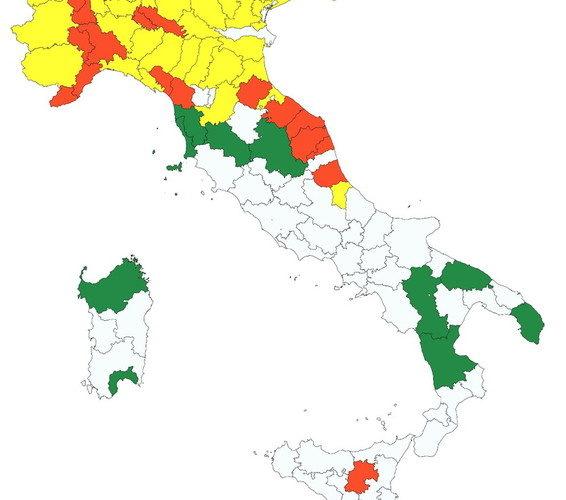 """Coronavirus, verso la Fase 2: """"Oltre il 20% delle città italiane non è pronto a ripartire"""""""