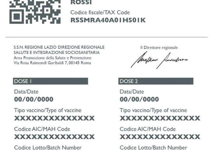 Certificato vaccinale per viaggiare, dal 20 marzo anche in Italia