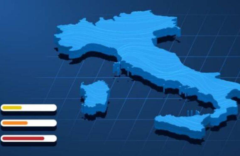 Covid, nuovi colori in arrivo: Italia sempre più rossa. Cosa può cambiare dopo i dati Iss